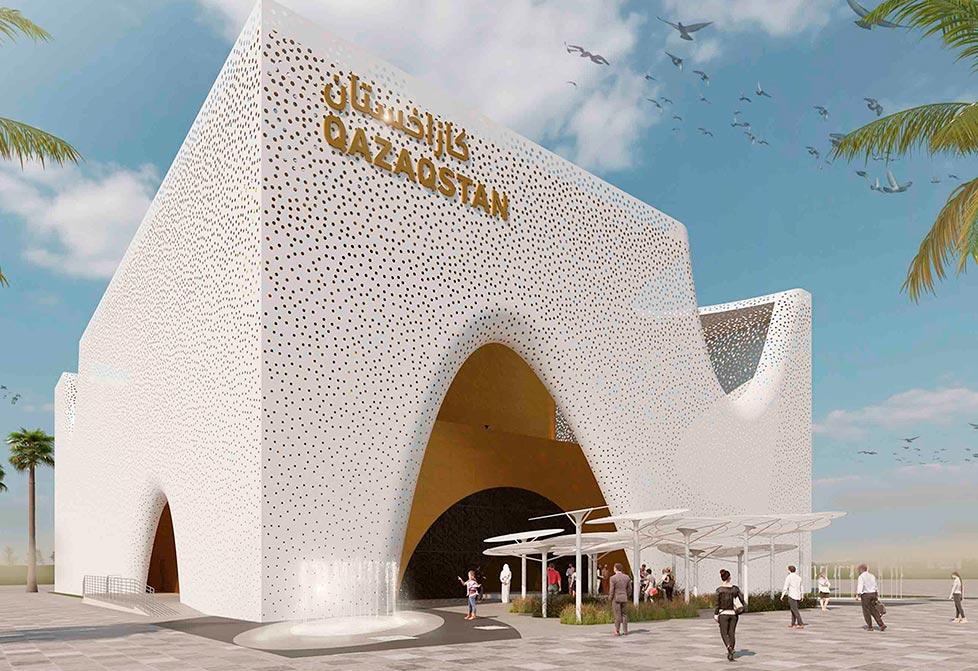 EXPO 2020 Pavilion Qazaqstan